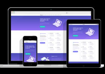 WordPress Responsive Learning Management Theme