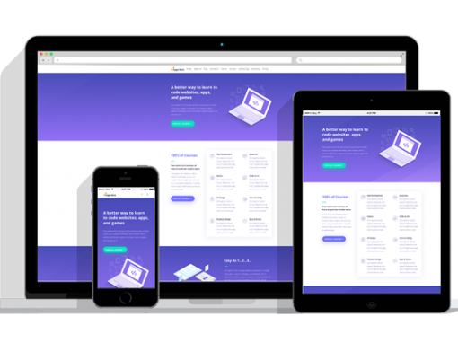 WordPress Responsive Learning Management Theme