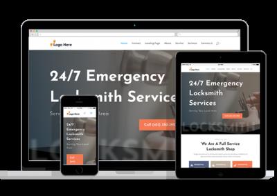 WordPress Responsive Lock Smith Theme