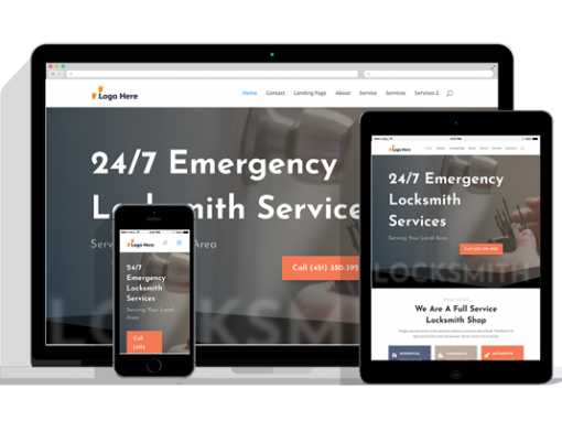 WordPress Responsive Lock Smith Theme