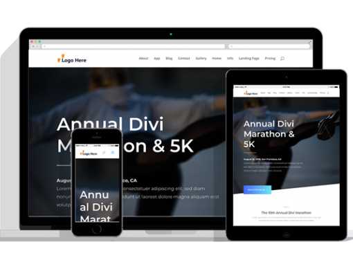 WordPress Responsive Marathon Theme