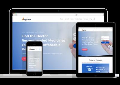 WordPress Responsive Pharmacy Theme