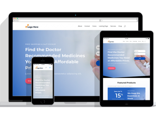 WordPress Responsive Pharmacy Theme