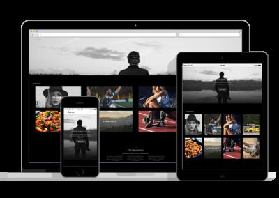 WordPress Responsive Photography Theme
