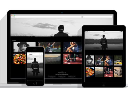 WordPress Responsive Photography Theme