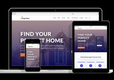 WordPress Responsive Real Estate Theme