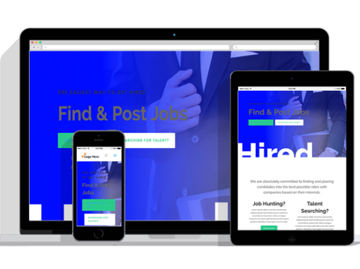 WordPress Responsive Recruiter Theme