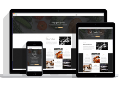WordPress Responsive Restaurant Theme Five