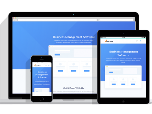 WordPress Responsive Business Management Software Theme