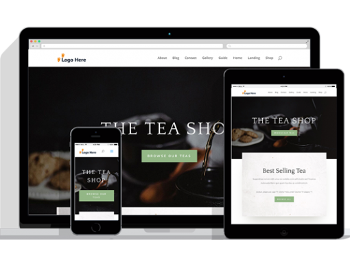 WordPress Responsive Shop Theme Two