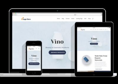 WordPress Responsive Shop Theme Three