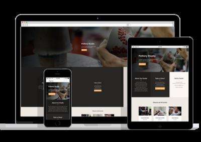 WordPress Responsive Studio Theme