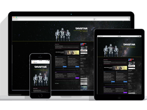 WordPress Responsive Star War Theme