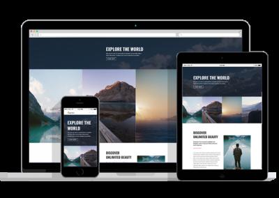 WordPress Responsive Travel Agency Theme