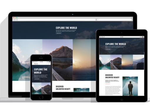 WordPress Responsive Travel Agency Theme