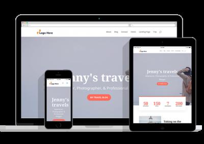 WordPress Responsive Travel Blog Theme
