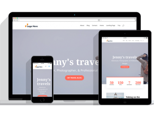 WordPress Responsive Travel Blog Theme