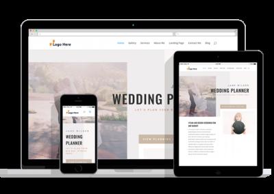 WordPress Responsive Wedding Planner Theme
