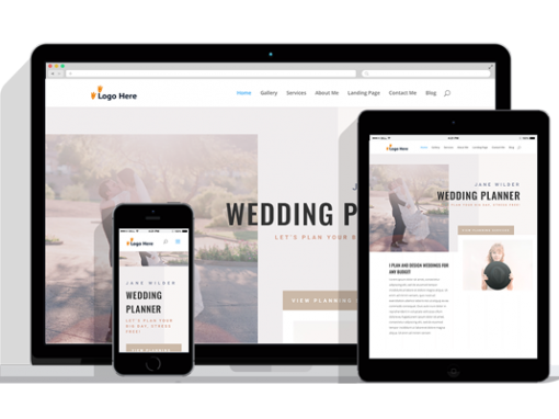 WordPress Responsive Wedding Planner Theme