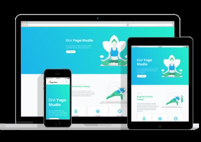 WordPress Responsive Yoga Theme