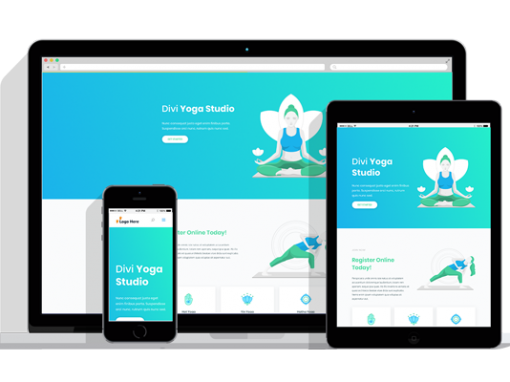 WordPress Responsive Yoga Theme